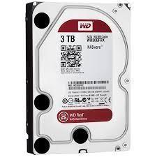 Hard Disk 3000GB 3TB Western Digital WD30EFRX 64MB Caviar Red SATA 6 Gb/s 32