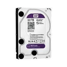 Hard Disk 3000GB 3TB Western Digital WD30PURZ 64MB Purple SATA 6 GB/s