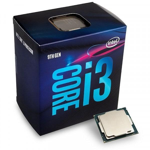 Processore Intel 1151 I3-9100 3,60GHz 6M Coffee Lake BX80684I39100