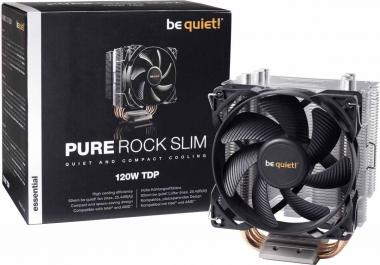 Dissipatore Be Quiet Pure Rock Slim Per CPU Intel: 1150 / 1151 / 1155 / 1156<BR>AMD: AM2 (+) / AM3 (+) / AM4 / FM1 / FM2 (+) BK008