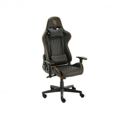 Sedia Gaming Noua Kui K7 Black/Orange Braccioli 2D e Schienale Inclinabile