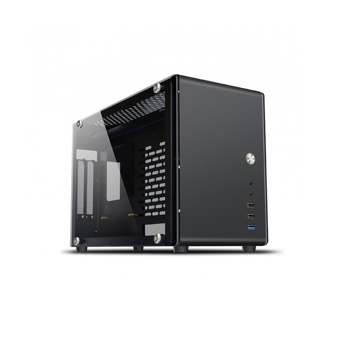 Case Mini-ITX Noua Parvus Q1 3*USB3.0/2.0 Dual Side Glass