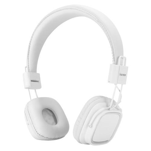 Cuffie Headphones Vultech HD-08W Bianche Con Microfono e Controllo Traccia