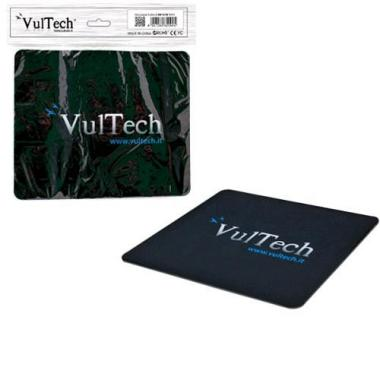 Mouse Pad Tappetino Per Mouse Vultech MP-01N Nero
