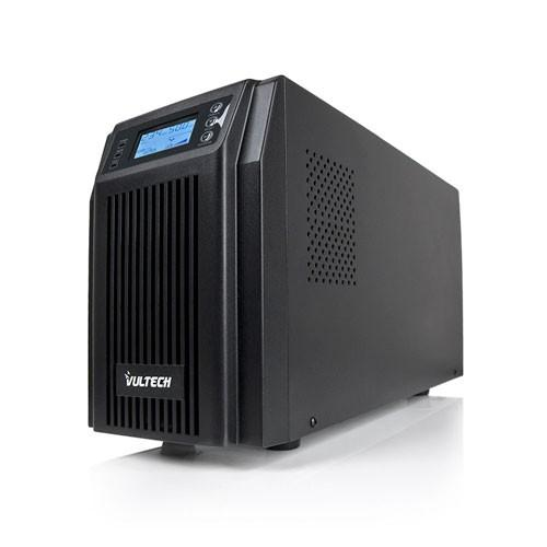 UPS Server Series 1000VA Gruppo Di Continuità Online Vultech GS-1KVAS Rev. 2.1 Onda Sinusoidale