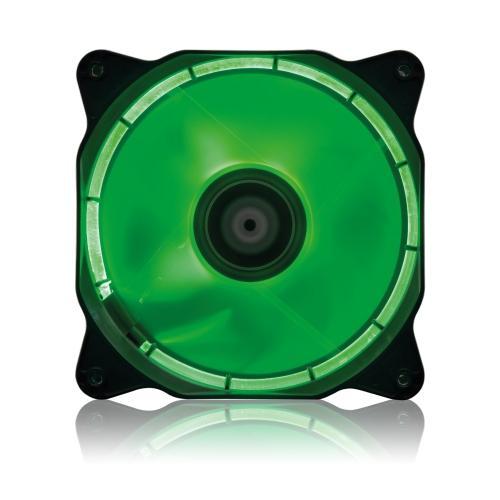 Ventola Di Raffreddamento 12cm Vultech HL-01GR Con HALO LED - Verde