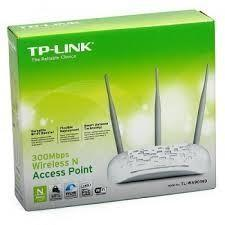 Access Point Wireless TP-Link TL-WA901ND 300Mbps Repeater POE 3 Antenne