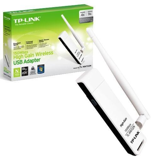 Adattatore USB Wireless TP-Link TL-WN722N 150Mbps