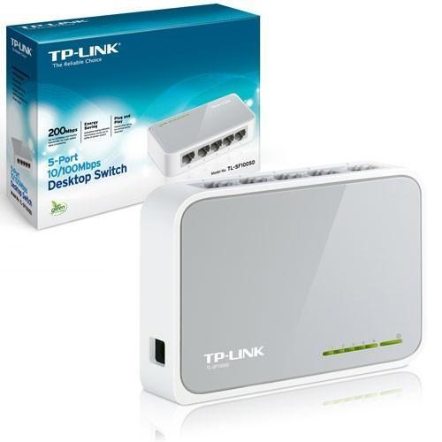 Hub di Rete Switch TP-Link TL-SF1005D 10/100 Mbps 5 Porte