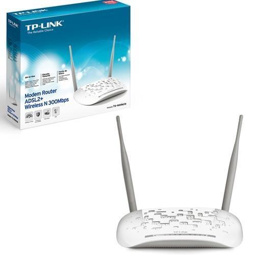 Modem Router Wireless TP-Link TD-W8961N ADSL2+ 300Mbps