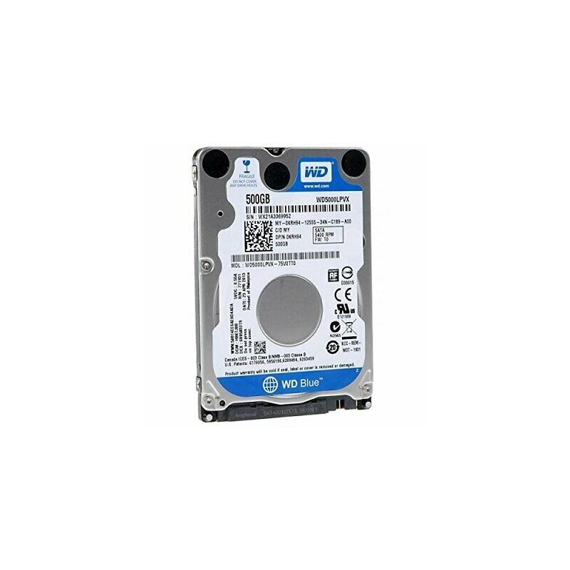 "Hard Disk 2,5"" 500GB Western Digital WD5000LPCX SATA 5400Rpm 8MB"