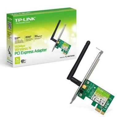 Scheda Wireless Pci-Express Tp-Link Tl-WN781ND 150mbps\n\n<br />