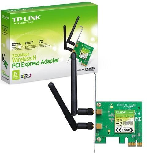 Scheda Wireless Pci-Express TP-Link TL-WN881ND 300Mbps