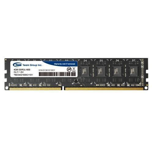 Memoria Ram DDR3 1600 4GB Team Group Elite CL11 TED34G1600C1101