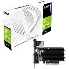 Scheda Video Pci-E Palit GT710 DDR3 2GB HDMI DVI-D VGA NEAT7100HD46H