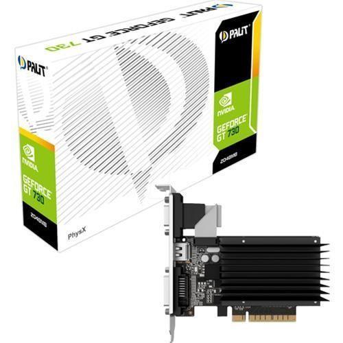 Scheda Video Pci-E Palit GT730  DDR3 2GB DVI HDMI Pci-E NEAT7300HD46H