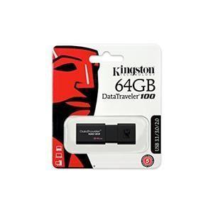 Pen Drive 64GB Kingston DT-100 USB 3.0 DT100G3/64GB