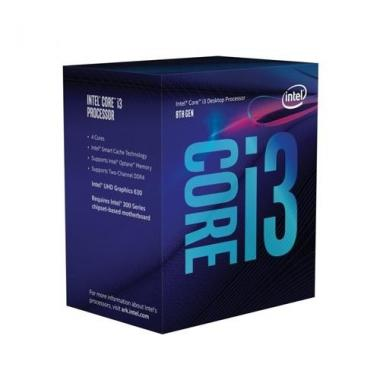 Processore Intel 1151 i3-8100 Box 3.6GHz 6MB BX80684I38100