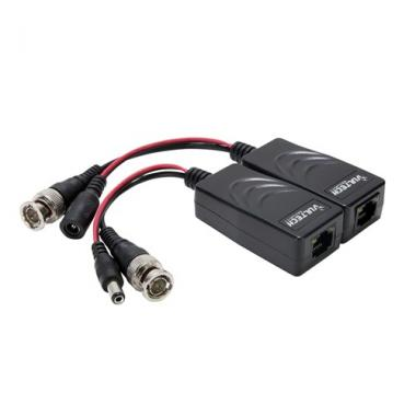 Coppia Video Balun Passivo Vultech VS-BLP4302-HD Video + Alimentazione RJ45 AHD/TVI/CVI/960H