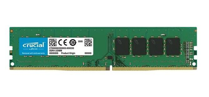 Memoria Ram  DDR4 2400 4GB Crucial CL17 CT4G4DFS824A