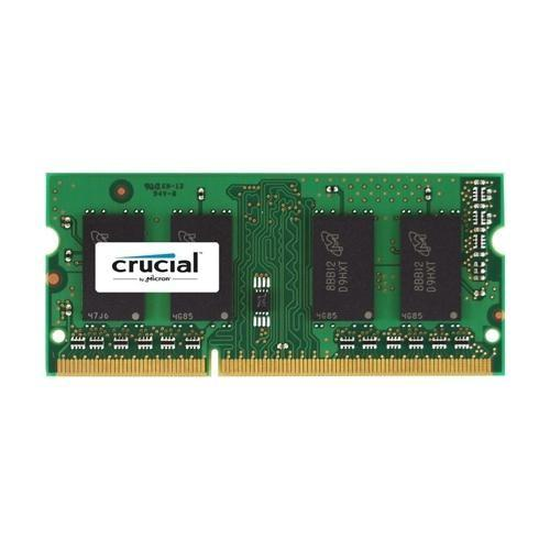Memoria Ram SO-DIMM DDR3 1600 4GB CL11 Crucial  CT51264BF160BJ