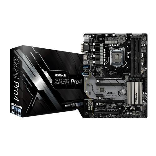 Scheda Madre 1151 Asrock Z370 Pro4 Atx 4xDDR4 HDMI USB3.0 SATA3